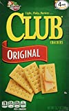 Keebler Club Crackers Original, 13.7 Oz. (Pack of 4)