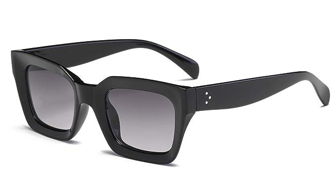e16bac3b7810 FEISEDY Classic Women Sunglasses Oprah Style Thick Square Frame UV400 B2471