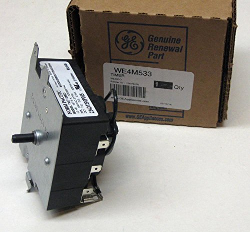 Major Appliances WE4M533 GE General Electric Dryer Control Timer OEM AP5780508 PS8690648