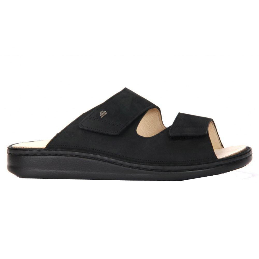 Finn Comfort Riad, Unisex Adult Sandals,Black (Black),7 UK (41 EU) by Finn Comfort (Image #1)