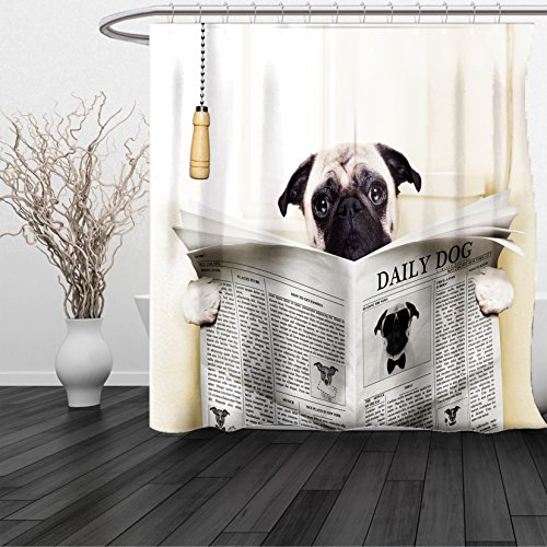 dean russo shower curtain - 8