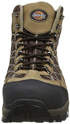 Dickies - Gironde Boot, Scarpe antinfortunistiche Uomo Marrone (Marrone/nero)