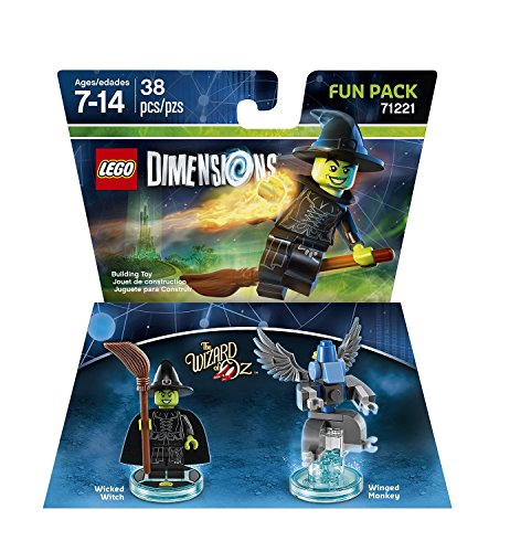 Wicked Witch - the Wizard of Oz - Fun Pack - Lego Dimensions - Wicked Witch Of The West Flying