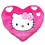 Hello Kitty Heart Cushion, Pink/White (38x32cm)