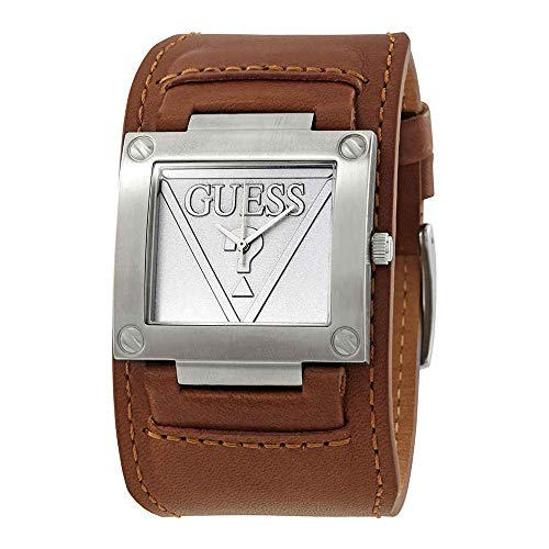 Guess Inked Silver Dial Men's Watch W1166G1