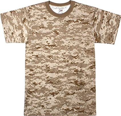 Amazon.com  Army Universe Desert Digital Camouflage T-Shirt ... 21bade213e8