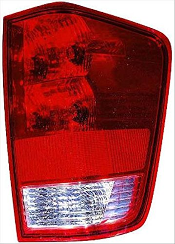 OE Replacement Tail Light Assembly NISSAN TITAN PICKUP 2004-2014 Partslink NI2801166 Multiple Manufacturers NI2801166C