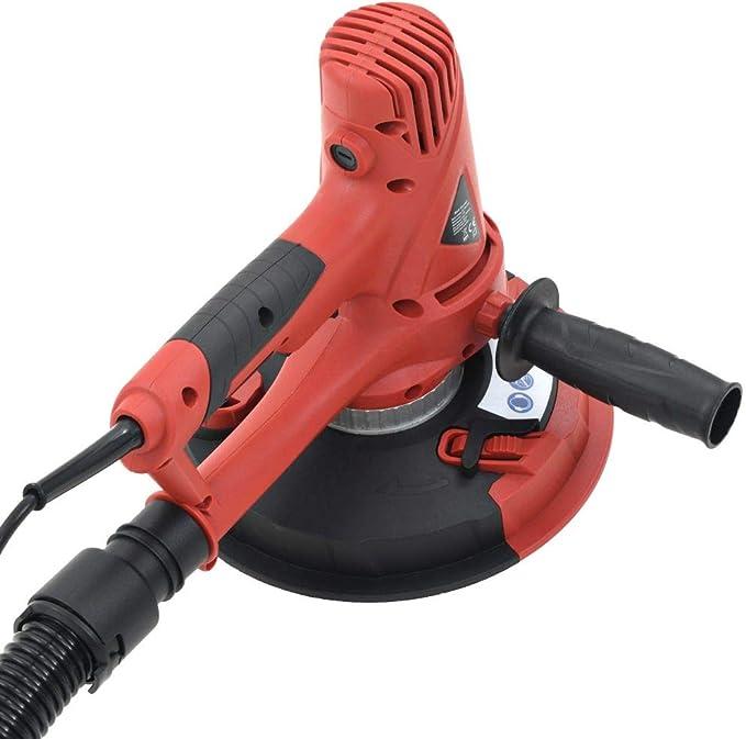 vidaXL Lijadora Yeso Aspiradora 710W Pulidora Orbital Lijar Limpieza Bricolaje: Amazon.es: Bricolaje y herramientas