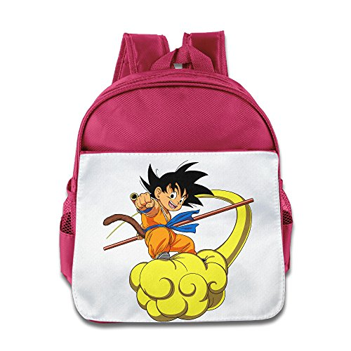 Baby Kids Dragon Ball Son Goku Backpack Schoolbag (Goku Children)