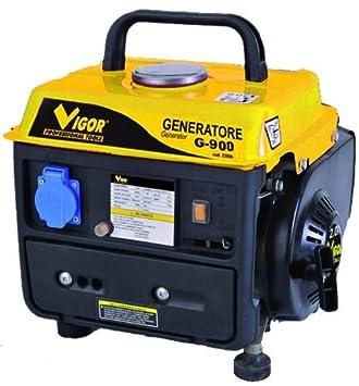 Vigor G-900 2T Generatore in Alluminio, 650 W: Amazon.es: Bricolaje y herramientas