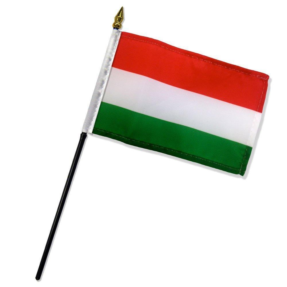 Hungary 4x6 Desk Stick Flag No Base 1 Flag
