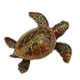 Sparkling Collectibles Wild Sea Turtle Pewter Figurine Box - Swarovski Crystals, Trinket, Keepsake, Jewelry, Pill Holder