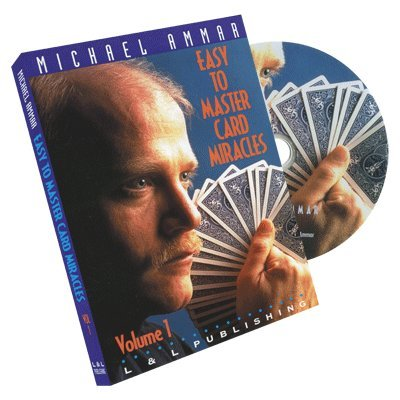 Price comparison product image Easy to Master Card Miracles Volume 1 by Michael Ammar - DVD