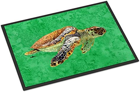 Caroline s Treasures 8675MAT Turtle Indoor or Outdoor Mat 18×27 Doormat, 18H X 27W, Multicolor
