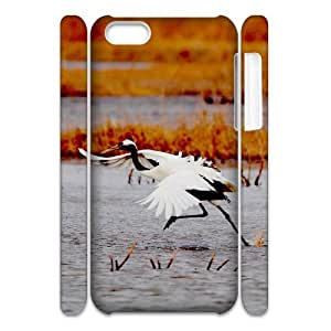 YCHZH Phone case Of Red-crownedCrane Cover Case For Iphone 4/4s