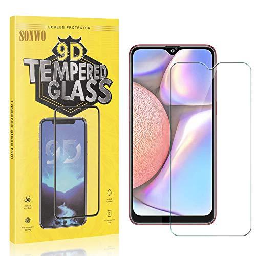 4 Stück Displayschutzfolie Kompatibel mit Galaxy A10S, SONWO Panzerglas Schutzfolie für Samsung Galaxy A10S, Gehärtetes...