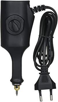 Grabador eléctrico,Baugger- Grabado Tallado Pluma Plotter Máquina para Metales Joyería Cerámica Plásticos Madera 5 Velocidad Mini Rotulador eléctrico: Amazon.es: Bricolaje y herramientas