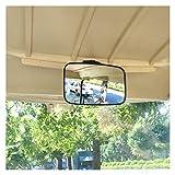 10L0L Generic of EZGO YAMAHA Golf Cart Sectec Mirror Rearview Mirror Black