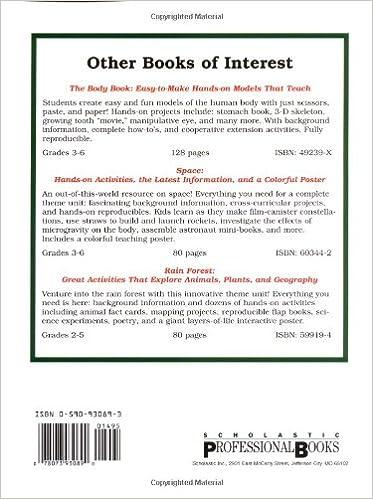 The Amazing Earth Model Book (Grades 3-6): Scholastic Books, Inc ...