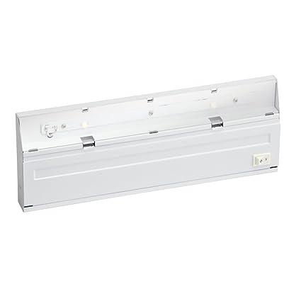 kichler lighting 12056wh direct wire led under cabinet light white