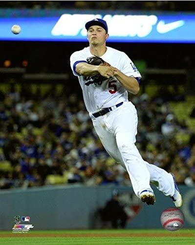 MLB Corey Seager Los Angeles Dodgers 2016 Action Photo Size: 8 x 10