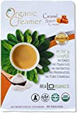 Realorganics 'PURE & SIMPLE' - Powdered, Coffee Creamer / 100% Certified Organic / rBST Free / GMO Free / Gluten Free / Chemical, Additive & Preservative Free... CARAMEL SWEET CREAM