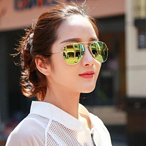Hombre sol Aimee7 Gafas Marco mujer de de metal calientes y cl xqqITES