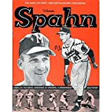 Warren Spahn Autographed Warren Spahn Program - MLB Programs