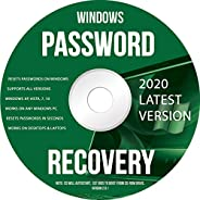 Ralix Windows Password Recovery DVD - Supports All Versions Windows XP, Vista, 7, 10 Resets Passwords in Secon
