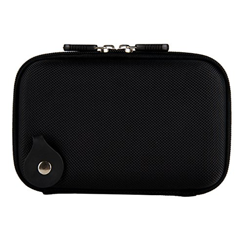 Vangoddy Premium Hard Shell Nylon Black Protective Case for Voice Caddie Swing SC100 and SC200 Swing Caddie by Vangoddy (Image #4)