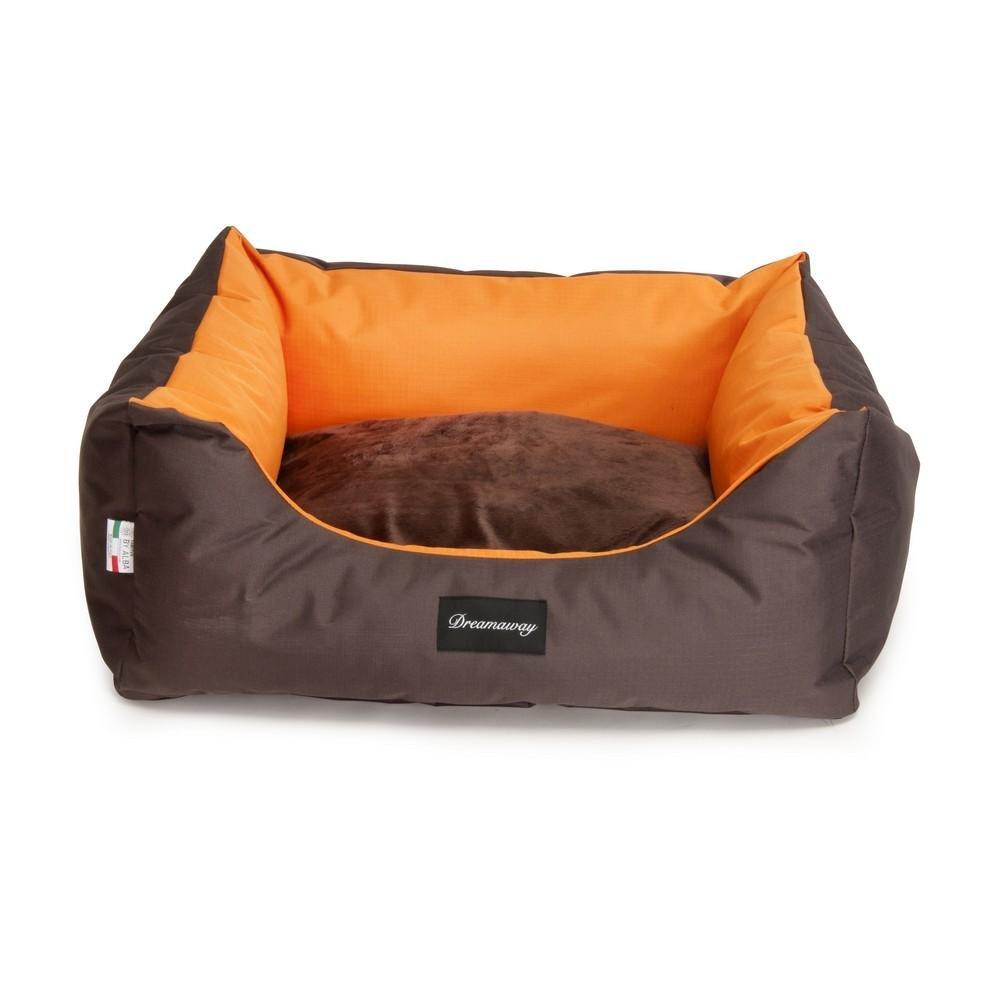 Fabotex Dreamaway Boston Materassino Arancione/Marrone M: 100X75X15 cm
