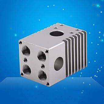 Huhuswwbin 4 boquillas de extrusión para impresora 3D de aleación ...