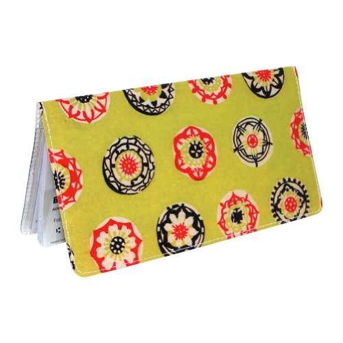 happy-lime-flower-checkbook-cover
