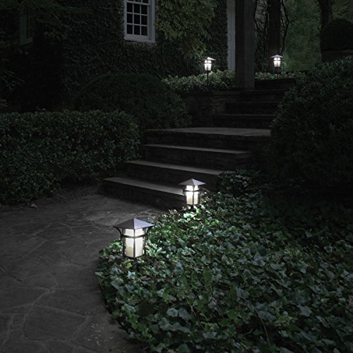 JandCase E12 Light Sensor Candelabra Bulb, Dusk to Dawn LED Bulbs for Porch, Daylight White(5000K), 40W Equivalent, 5W, 450lm, G14 Automatic Indoor/Outdoor Security Lights for Patio, Hallway, 4 Pack by JandCase (Image #6)