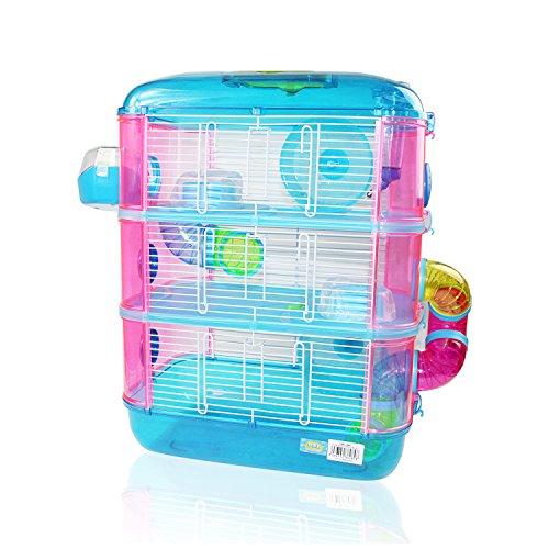 Jaula Para Hamster De 3 Pisos: Amazon.es: Productos para mascotas