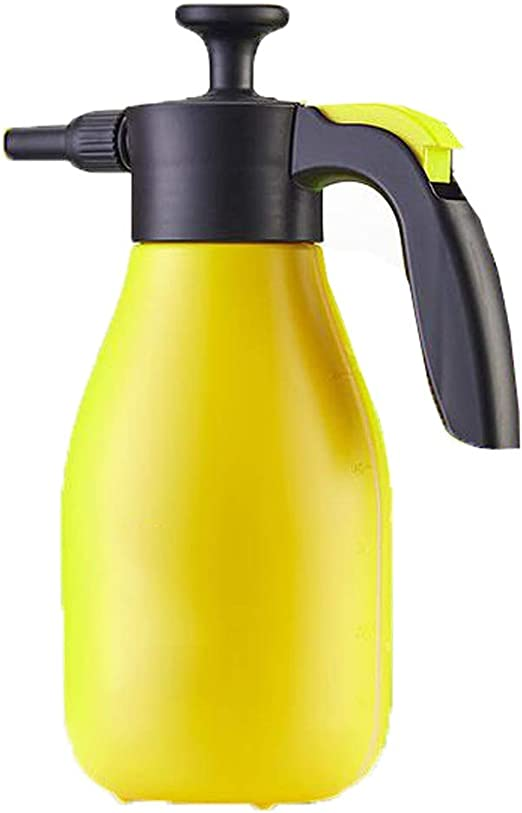 HZPXSB Botella del Aerosol del jardín, regaderas, Pump Action 2LPAPS pulverizador a presión, Planta regadera (Color : Yellow): Amazon.es: Hogar
