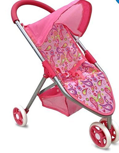 3 Wheel Baby Doll Stroller - 9