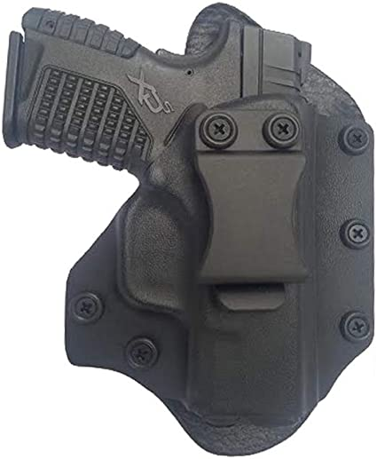 OWB Kydex//Leather Hybrid Holster with adjustable retention for Sig Sauer