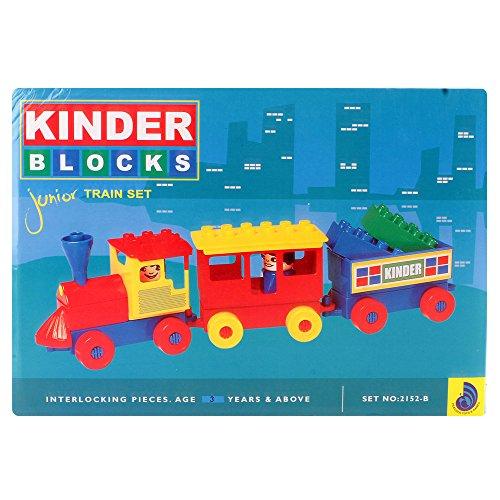Peacock Kinder Blocks Junior Train Set