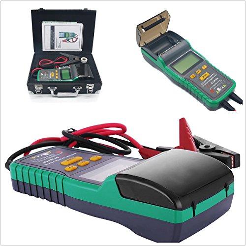 Battery Tester 12V Battery Analyzer+Printer 30AH-200AH Automotive Battery Tester by CISUNG