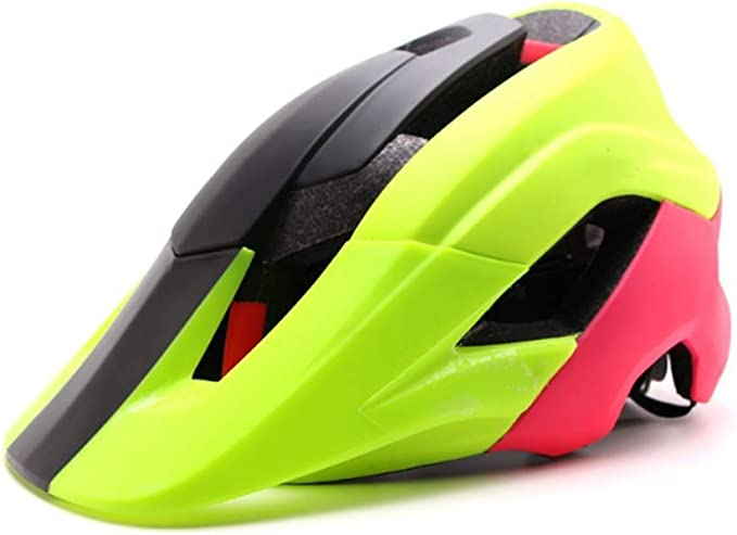 Z_L Casco Bicicleta Mountain Bike Helmet Deeper Coverage MTB ...