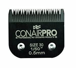 Conair Pro Pet Clipper Size 30 Steel Replacement Blade, 0.5mm