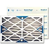 16 X 25 X 4 MERV 8 Pleated Furnace Filter, by National Filter Sales