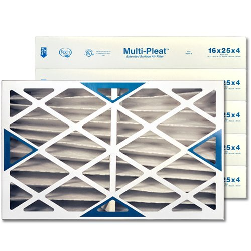 16 X 25 X 4 MERV 8 Pleated Furnace Filter, by National Filter Sales by National Filter Sales