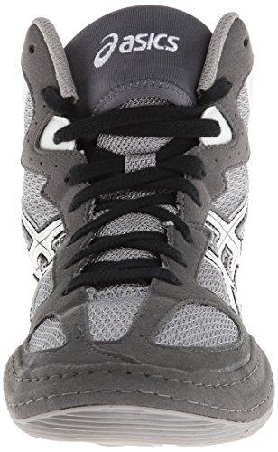 Asics Mens Matflex 4 Chaussure De Lutte Granit / Blanc / Noir