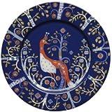 Iittala Taika Salad Plate, Blue, 8-1/2-Inch