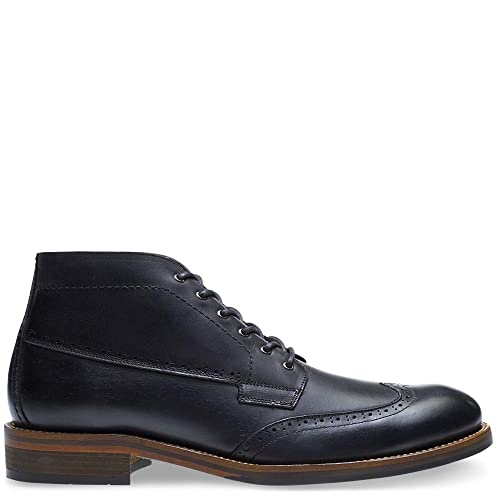 9bc9a76670e Wolverine Men's Harwell Chukka Black Leather 14 M US: Amazon.ca ...