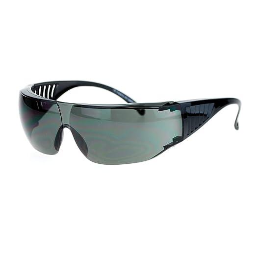 ee6d91cb1579f Fit Over Goggle Sunglasses Safety Glasses Wear Over Prescription Black