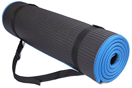 BalanceFrom BFGP-10BLK GoFit All-Purpose 10mm Extra Thick Hi