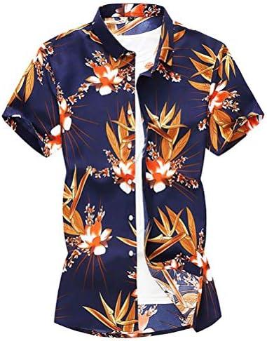 シャツ 半袖 メンズ アロハシャツ カジュアルシャツ 花柄 開襟シャツ 大きいサイズ ハワイ風 上着 薄手 細身 リゾート 男性用 お兄系 qt4025-1903